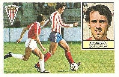 Liga 84-85. Ablanedo I (Real Sporting de Gijón). Ediciones Este.