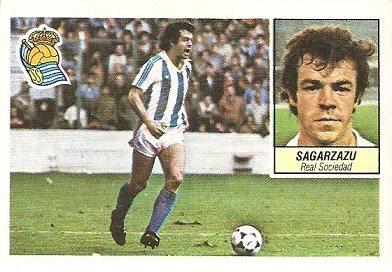 Liga 84-85. Sagarzazu (Real Sociedad). Ediciones Este.