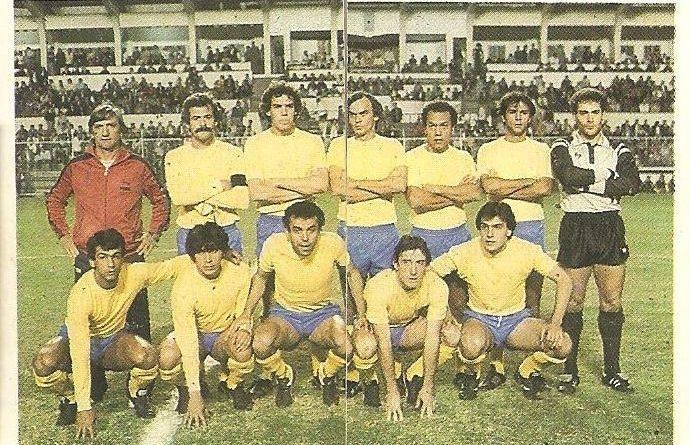 Trideporte 84. Alineación U.D. Las Palmas (U.D. Las Palmas). Editorial Fher.