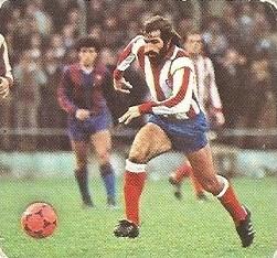 Liga 82-83. Juanjo (Atlético de Madrid). Ediciones Este.