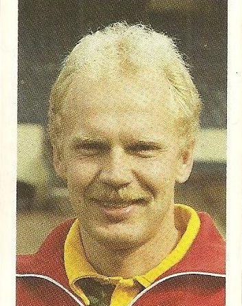 Eurocopa 1984. Ole Kjaer (Dinamarca). Editorial Fans Colección.