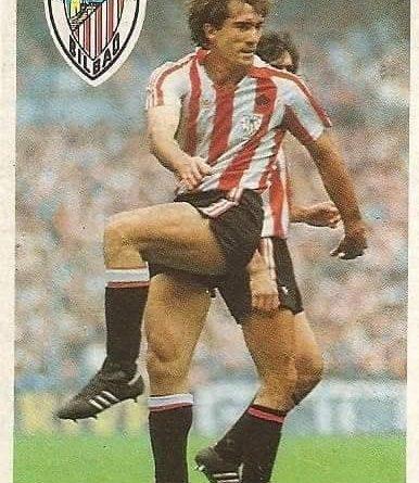 Diego Armando Maradona. Sus driblings. Sus goles. Liga 84-85. Goicoechea (Ath. Bilbao). Cromo Esport.