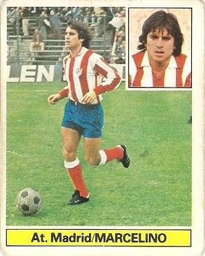 Liga 81-82. Marcelino (Atlético de Madrid). Ediciones Este.