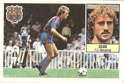 Liga 84-85. Clos (F.C. Barcelona). Ediciones Este.