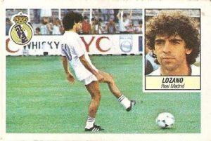 Liga 84-85. Lozano (Real Madrid). Ediciones Este.