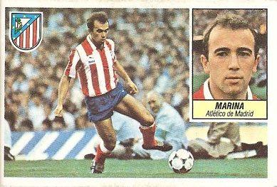 Liga 84-85. Marina (Atlético de Madrid). Ediciones Este.