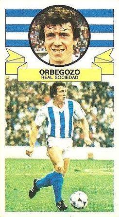 Liga 85-86. Orbegozo (Real Sociedad). Ediciones Este.