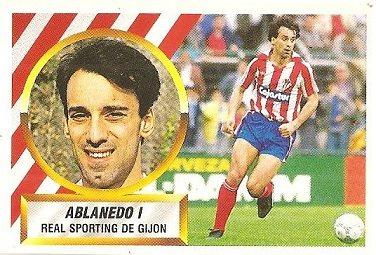 Liga 88-89. Ablanedo I (Real Sporting de Gijón). Ediciones Este.