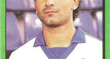 Fútbol 90. Luis Delgado (C. D. Tenerife). Ediciones Panini.