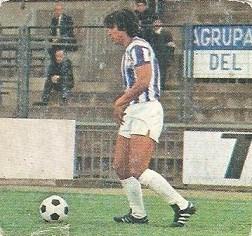 Liga 82-83. Santos (Real Valladolid). Ediciones Este.