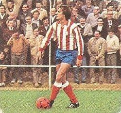 Liga 82-83. Balbino (Atlético de Madrid). Ediciones Este.