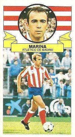 Liga 85-86. Marina (Atlético de Madrid). Ediciones Este.