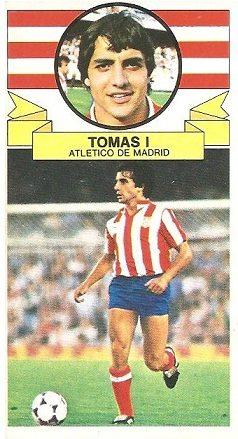 Liga 85-86. Tomás (Atlético de Madrid). Ediciones Este.