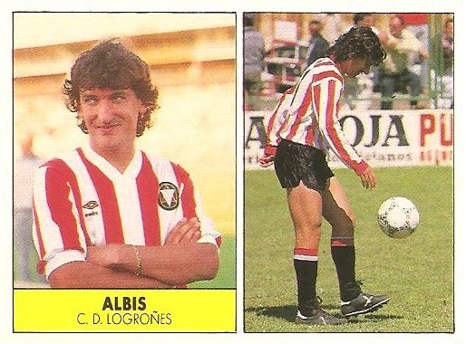 Liga 87-88. Albis (C.D. Logroñés). Ediciones Festival.