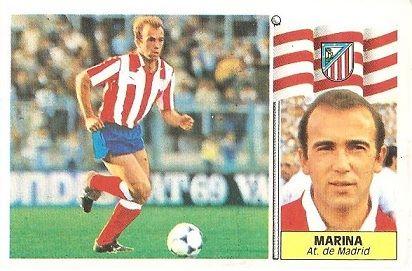 Liga 86-87. Marina (Atlético de Madrid). Ediciones Este.
