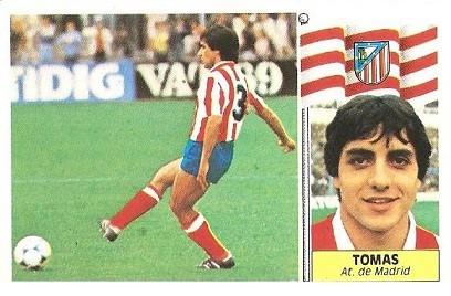 Liga 86-87. Tomás (Atlético de Madrid). Ediciones Este.