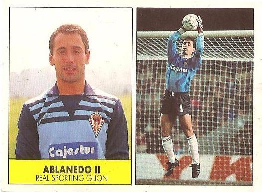 Liga 87-88. Ablanedo II (Real Sporting de Gijón). Ediciones Festival.