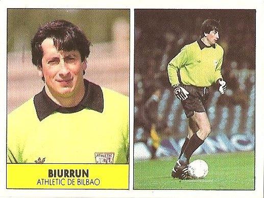Liga 87-88. Biurrun (Ath. Bilbao). Ediciones Festival.