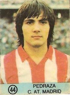 1983-84 Super Campeones. Pedraza (Atlético de Madrid). (Ediciones Gol).