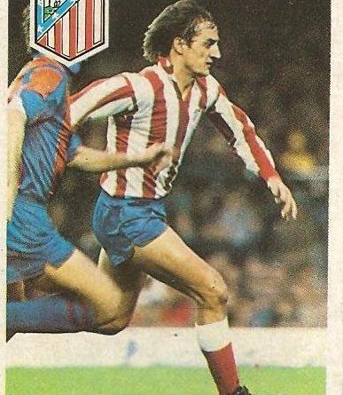 Diego Armando Maradona. Sus driblings. Sus goles. Mis entrenamientos. Liga 84-85. Balbino (Atlético de Madrid). Cromo Esport.