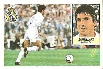 Liga 84-85. Santillana (Real Madrid). Ediciones Este.