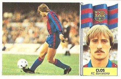 Liga 86-87. Clos (F.C. Barcelona). Ediciones Este.