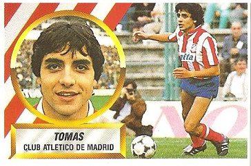 Liga 88-89. Tomás (Atlético de Madrid). Ediciones Este.
