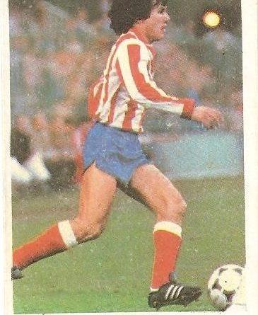 Fútbol 84. Pedraza (Atlético de Madrid). Cromos Cano.