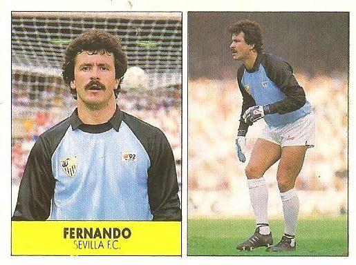 Liga 87-88. Fernando (Sevilla F.C.). Ediciones Festival.