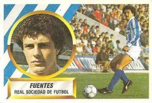 Liga 88-89. Fuentes (Real Sociedad). Ediciones Este.