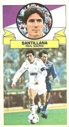 Liga 85-86. Santillana (Real Madrid). Ediciones Este.
