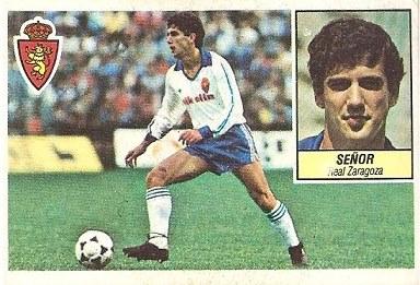 Liga 84-85. Señor (Real Zaragoza). Ediciones Este.