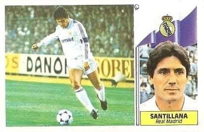 Liga 86-87. Santillana (Real Madrid). Ediciones Este.
