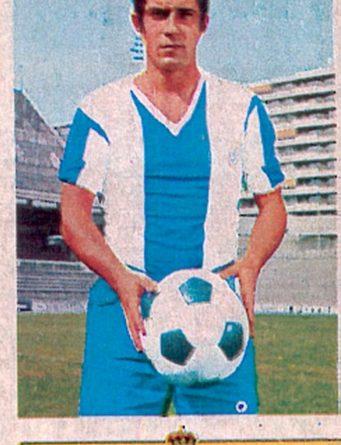 Liga 73-74. De Diego (R.C.D. Español). Ediciones Este. 📸: Toni Izaro.