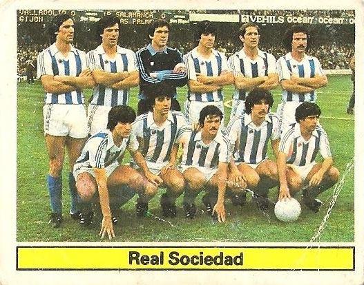 Liga 81-82. Real Sociedad. Ediciones Este