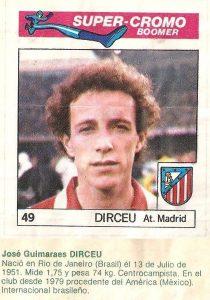 Super Cromos Los Mejores del Mundo. (1981). Chicle Fútbol Boomer.