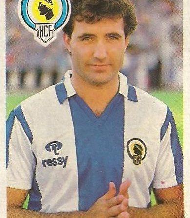Diego Armando Maradona. Sus driblings. Sus goles. Mis entrenamientos. Liga 84-85. Luis (Hércules C.F.) Cromo Esport.
