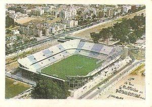 Trideporte 84. Estadio La Rosaleda (C.D. Málaga). Editorial Fher.