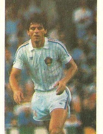 Eurocopa 1984. Jovanovic (Yugoslavia) Editorial Fans Colección.