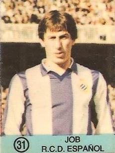 1983-84 Super Campeones. Job (R.C.D. Español). Ediciones Gol.