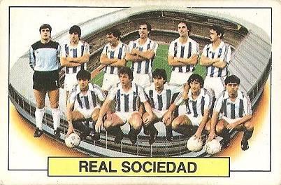Liga 83-84. Real Sociedad. Ediciones Este.
