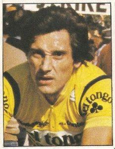 1983. Vuelta Ciclista - Ases Internacionales del Pedal. Saronni (Tongo). (Editorial J. Merchante - Chocolates Hueso).