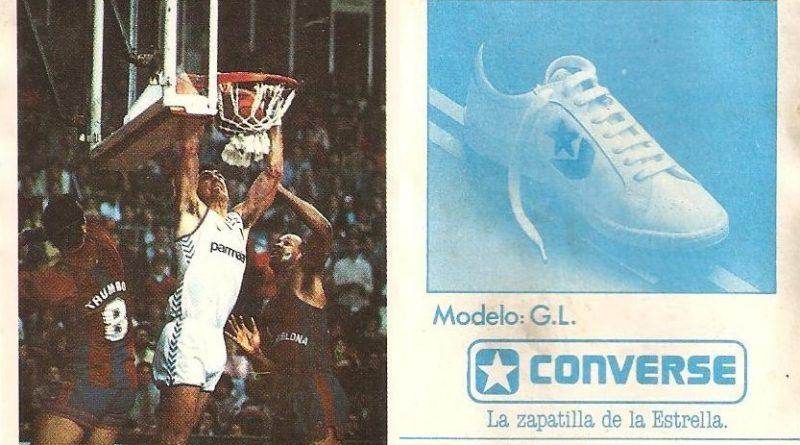 Baloncesto 1988. B. Branson (Real Madrid). Ediciones J. Merchante.