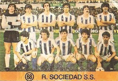 1983-84 Super Campeones. Real Sociedad. Ediciones Gol.