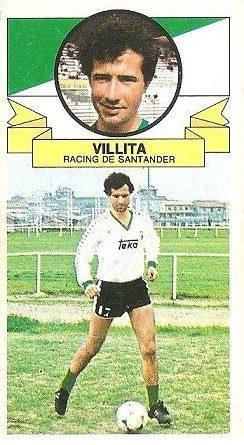 Liga 85-86. Villita (Racing de Santander). Ediciones Este.