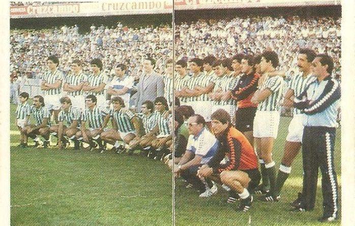 Trideporte 84. Plantilla Real Betis (Real Betis). Editorial Fher.