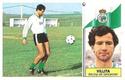 Liga 86-87. Villita (Racing de Santander). Ediciones Este.