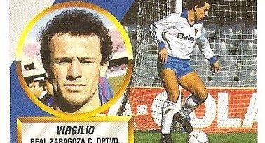 Liga 88-89. Virgilio (Real Zaragoza). Ediciones Este.