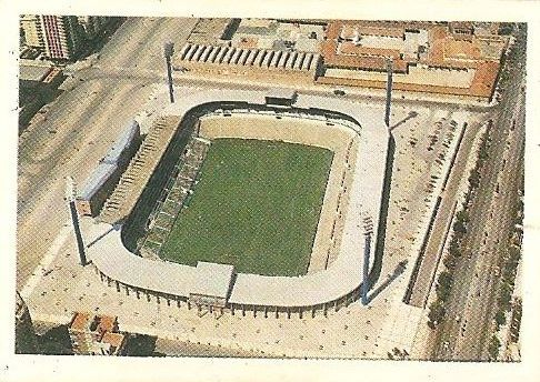 Trideporte 84. Estadio La Romareda (Real Zaragoza). Editorial Fher.