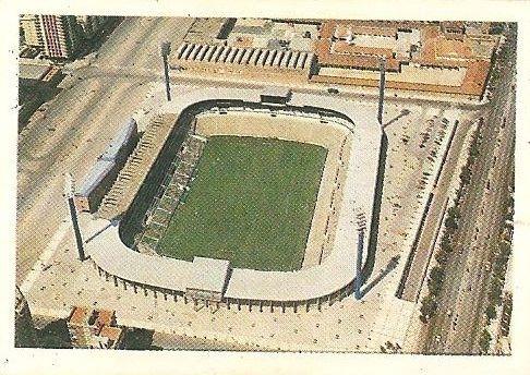 Trideporte 84. Estadio La Romareda (Real Zaragoza). Editorial Fher.